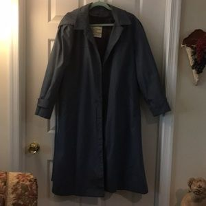 London Fog trench/raincoat